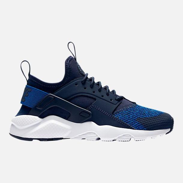 Right view of Boys' Grade School Nike Air Huarache Run Ultra SE Casual Shoes in Obsidian/Gym Glue/Cool Grey