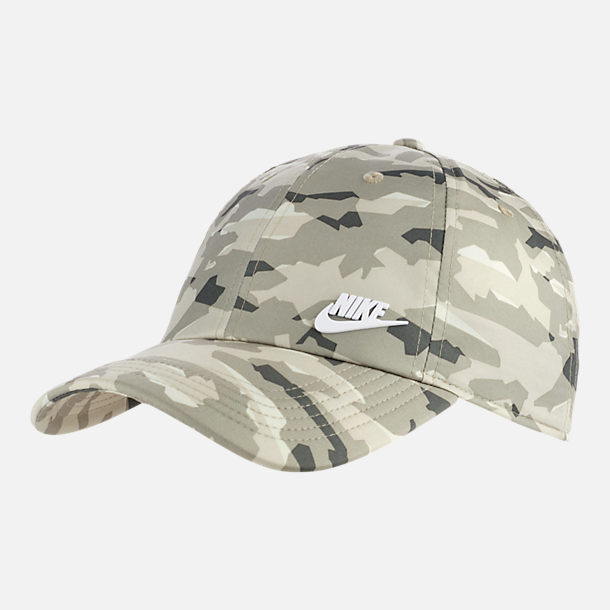 Front view of Unisex Nike Sportswear Heritage86 Metal Logo Adjustable Hat