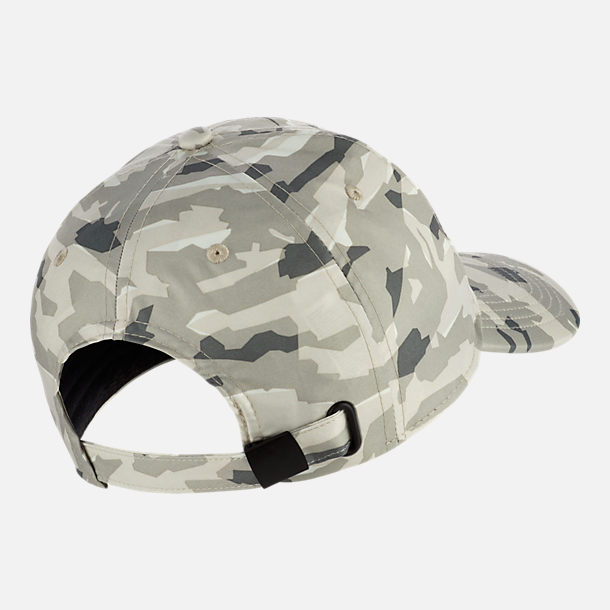 Back view of Unisex Nike Sportswear Heritage86 Metal Logo Adjustable Hat