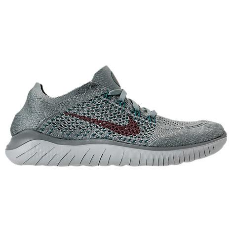Women'S Free Rn Flyknit 2018 Running Shoes, Green