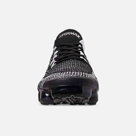 promo code c2010 90058 Front view of Men s Nike Air VaporMax Flyknit 2 Running Shoes in  Black Black