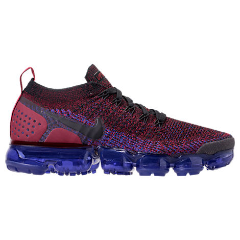 WOMEN'S AIR VAPORMAX FLYKNIT 2 RUNNING SHOES, PURPLE/RED