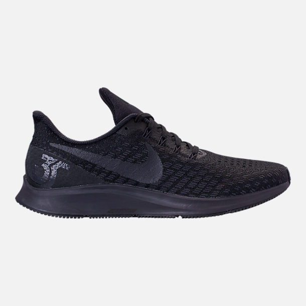 812e4a5e8eac Right view of Men s Nike Air Zoom Pegasus 35 Running Shoes in Black Oil Grey