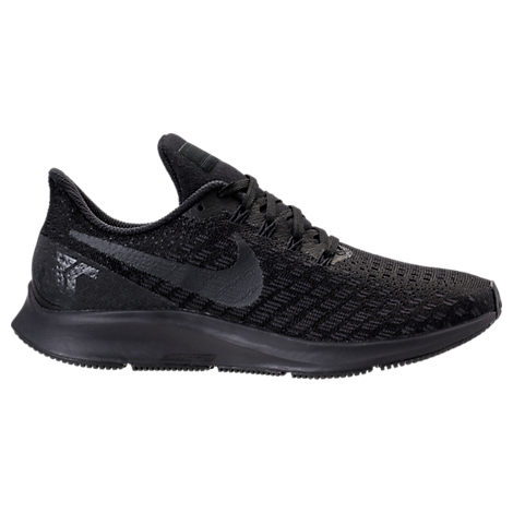 WOMEN'S AIR ZOOM PEGASUS 35 RUNNING SHOES, BLACK