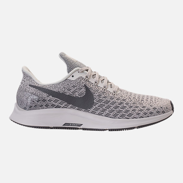 Right view of Women's Nike Air Zoom Pegasus 35 Running Shoes in Phantom/Gunsmoke/Summit White