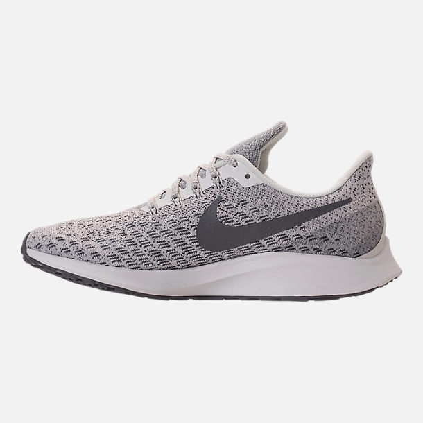 Left view of Women's Nike Air Zoom Pegasus 35 Running Shoes in Phantom/Gunsmoke/Summit White