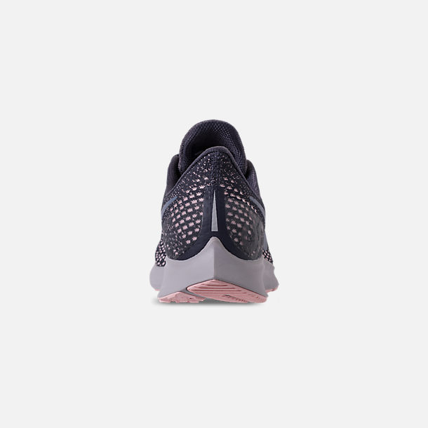 big sale 7ab55 aa753 Back view of Women s Nike Air Zoom Pegasus 35 Running Shoes in  Gridiron Light Carbon