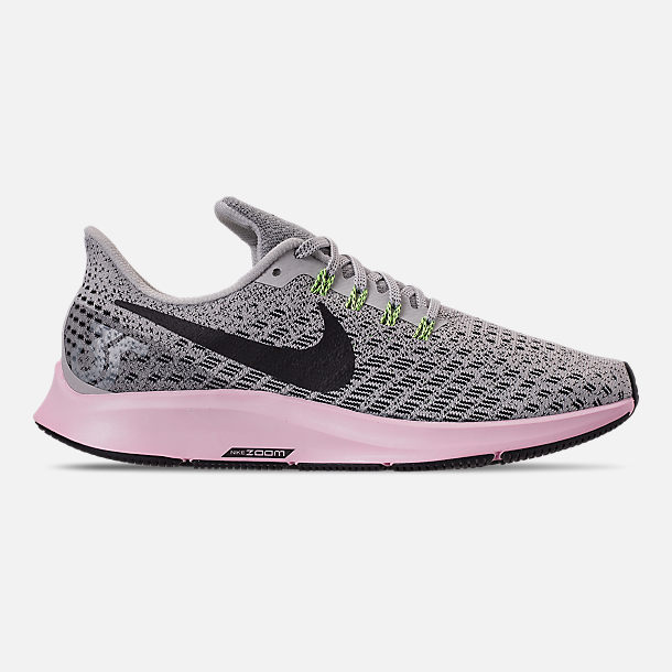 new product 071af d7afa Right view of Women s Nike Air Zoom Pegasus 35 Running Shoes in Vast  Grey Black
