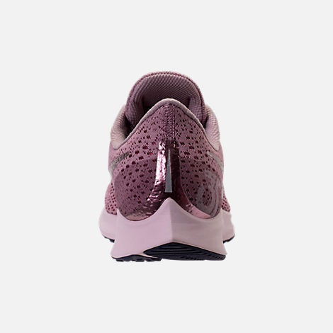 Back view of Women's Nike Air Zoom Pegasus 35 Running Shoes in Elemental Rose/Barely Rose/Vintage