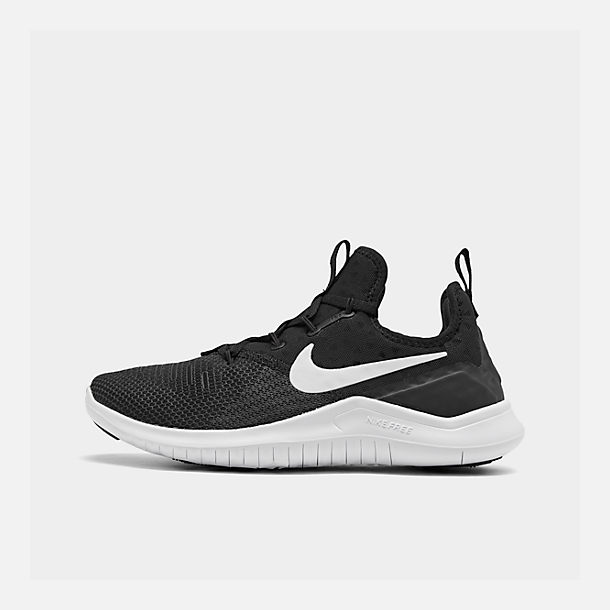 59a12ce0fc74c3 Right view of Women s Nike Free TR 8 Training Shoes in Black White