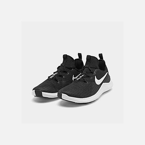 a9a4434062587d Three Quarter view of Women s Nike Free TR 8 Training Shoes in Black White
