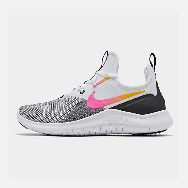 c867a7430d482 Right view of Women s Nike Free TR 8 Training Shoes in Black Laser Fuchsia