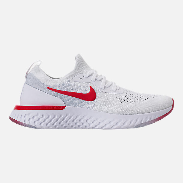 4f60d01f89f Right view of Big Kids  Nike Epic React Flyknit Running Shoes