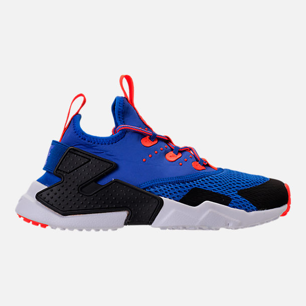 Right view of Boys' Big Kids' Nike Huarache Drift Casual Shoes in Racer Blue/Black/Total Crimson