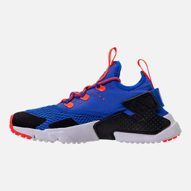 Left view of Boys' Big Kids' Nike Huarache Drift Casual Shoes in Racer Blue/Black/Total Crimson