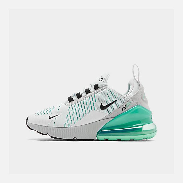 Nike Air Max 270 W shoes grey turquoise