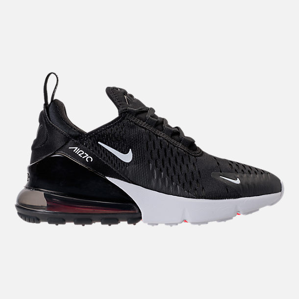 c015ea9210df Right view of Big Kids  Nike Air Max 270 Casual Shoes in Black White