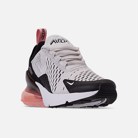 5ae7c936 Three Quarter view of Girls' Big Kids' Nike Air Max 270 Casual Shoes in