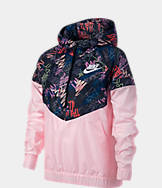 Girls' Nike Sportswear Allover Print Windrunner Jacket