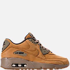 Boys' Grade School Nike Air Max 90 Winter Premium Casual Shoes