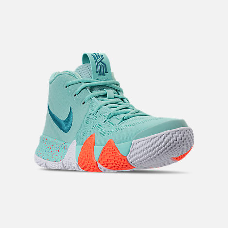 finest selection e00f1 4059c czech pink silver mens nike kyrie 4 shoes e113f 8d0b8