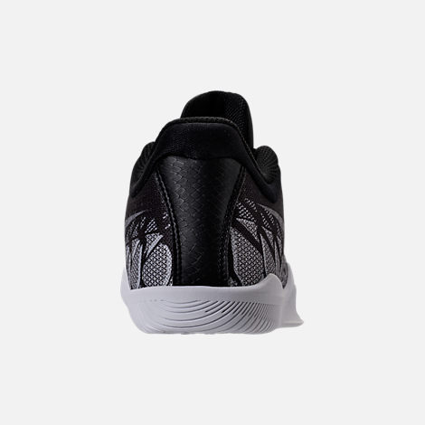 Back view of Boys' Grade School Nike Kobe Mamba Rage Basketball Shoes in Anthracite/White/Black