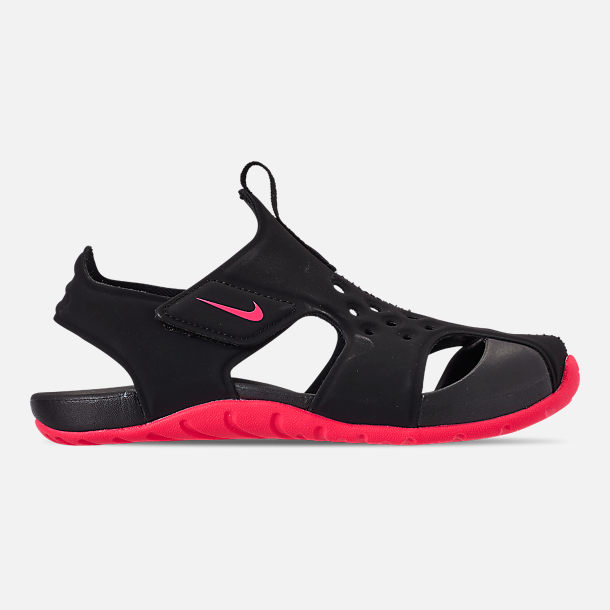 a6b374e662f4 Girls  Little Kids  Nike Sunray Protect 2 Hook-and-Loop Sandals ...