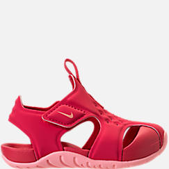 Girls' Toddler Nike Sunray Protect 2 Hook-and-Loop Sandals