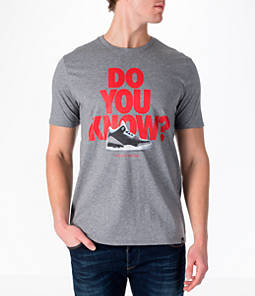 Men's Air Jordan 3 Do You Know T-Shirt Product Image