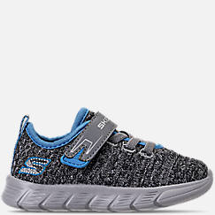 Kids' Toddler Skechers Comfy Flex - Easy Pace Hook-and-Loop Athletic Shoes