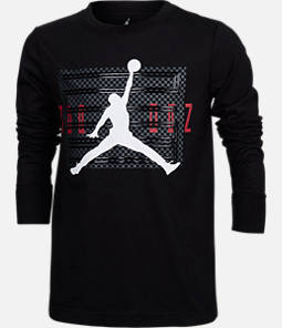 Boys' Air Jordan Retro 11 Long-Sleeve T-Shirt