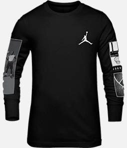 Boys' Air Jordan Legacy Long-Sleeve T-Shirt Product Image