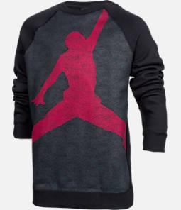 Boys' Air Jordan Flight Fleece Crew Sweatshirt