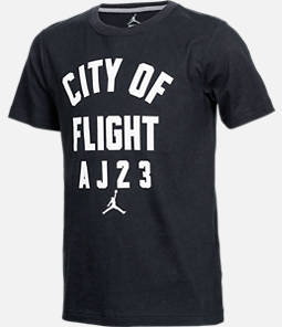 Boys' Air Jordan City Of Flight T-Shirt Product Image