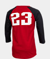Boys' Air Jordan Retro 9 Raglan Long-Sleeve T-Shirt