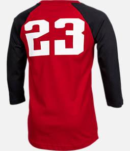 Boys' Air Jordan Retro 9 Raglan Long-Sleeve T-Shirt
