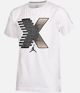 Boys' Air Jordan Retro 10 Stats T-Shirt
