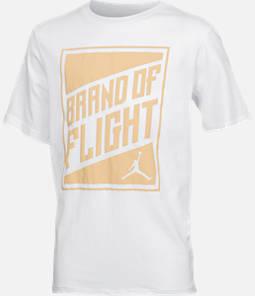 Boys' Jordan Brand of Flight Harvest Gold T-Shirt