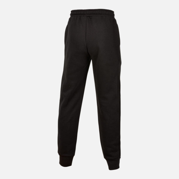 Alternate view of Boys' Air Jordan Jumpman Fleece Sweatpants in Black