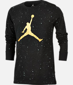 Boys' Jordan Speckle Long Sleeve T-Shirt