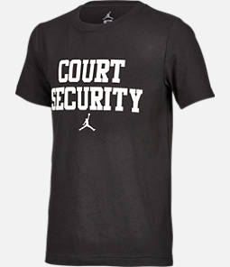 Boys' Air Jordan Court Security T-Shirt