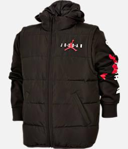 Boys' Jordan 8-20 AJ HBR 2-Fer Puffer Jacket