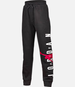 Boys' Air Jordan Flight Fleece Jogger Pants