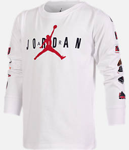 Boys' Air Jordan Pinned Up Long-Sleeve T-Shirt