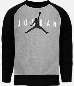 Boys' Air Jordan Jumpman Crewneck Sweatshirt