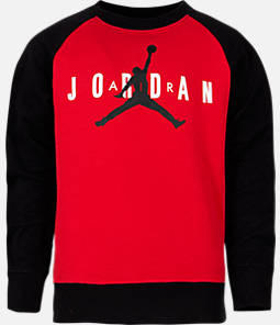 Boys' Air Jordan Jumpman Crewneck Sweatshirt