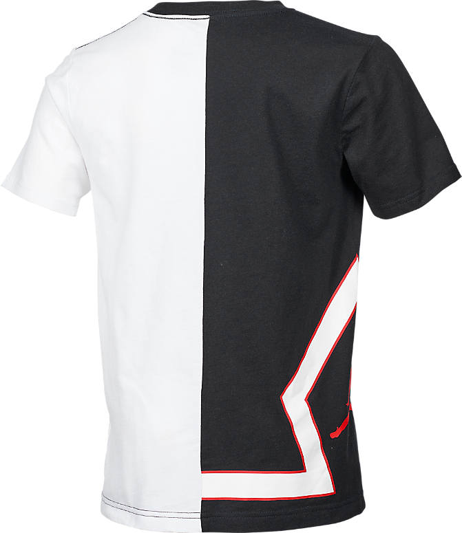 Product 3 view of Boys' Jordan Split Game T-Shirt in Black/White
