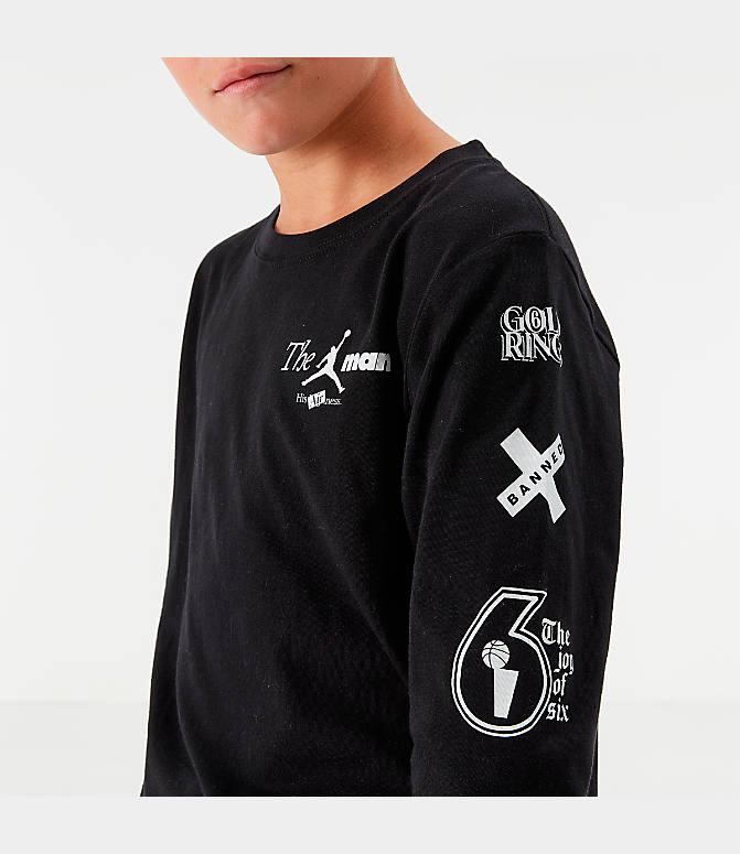 Boys' Jordan AJ85 Long Sleeve T Shirt