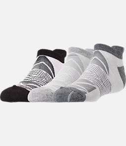 Women's Finish Line Chevron 3-Pack No-Show Tab Socks