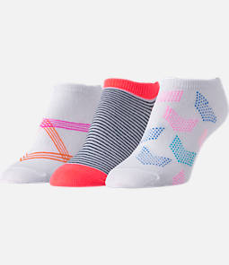 Women's Finish Line No-Show Socks 3-Pack
